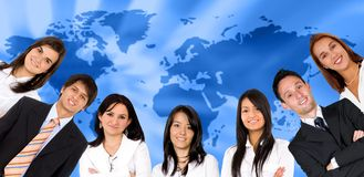 Global business people Royalty Free Stock Image