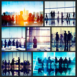 Global Business People Corporate Collection Concept Royalty Free Stock Image