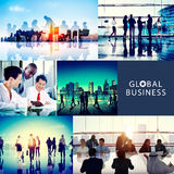 Global Business People Corporate Collection Concept Royalty Free Stock Photography