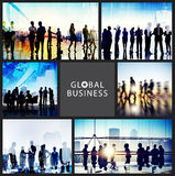 Global Business People Handshake Meeting Communication Concept Stock Photo