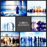 Global Business People Handshake Meeting Communication Concept Royalty Free Stock Image