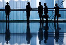 Global Business People in Hong Kong Stock Photos