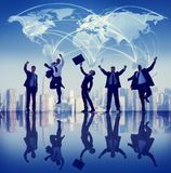 Global Business People Success City Concepts Stock Photos