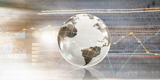 Global business planning Stock Photo