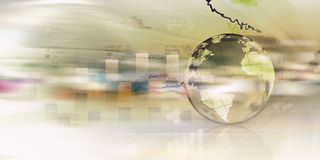Global business planning Stock Images