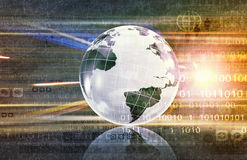 Global business planning Stock Image