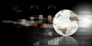 Global business planning Royalty Free Stock Photo