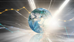 Global business planning Royalty Free Stock Image