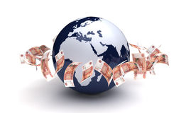 Global Business Ruble Currency Stock Photos