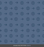 Global Business Seamless Pattern Concept Series 02 Stock Photography