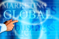 Global business solutions Stock Images