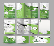 Global Business Stationery Royalty Free Stock Photo