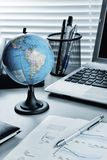 Global business still life stock image