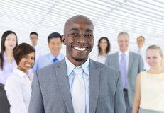 Global business strategic planning meeting Stock Images
