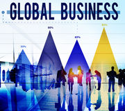 Global Business Strategy Planning Vision Concept Stock Photography
