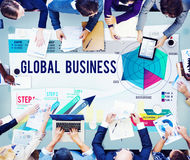 Global Business Strategy Startup Growth Concept Stock Photos