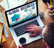 Global Business Strategy Startup Growth Concept Stock Image
