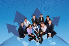 Global business team Stock Photography