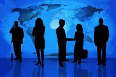 Global business team stock illustration
