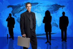 Global business team stock photo