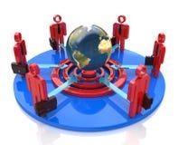Global business team goal Stock Photography