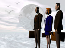 Global Business team to succes. Stock Images