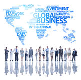 Global Business team Stock Photos