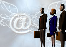 Global Business team, your help to succes. royalty free illustration