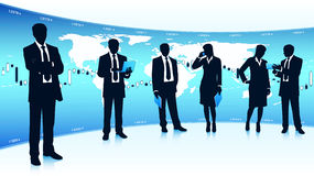 Global business teamwork Royalty Free Stock Image