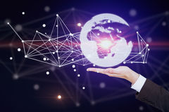 Global business and technologies concept Royalty Free Stock Photography