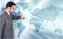 Global Business Time Royalty Free Stock Image