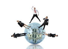 Global Business World Stock Image