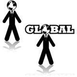 Global businessman Royalty Free Stock Photo