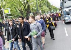 Global Cannabis March Vienna Stock Photos