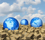Global Cargo Royalty Free Stock Images