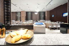 Global Center in Chengdu, China, upscale restaurant design Stock Image