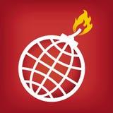 Global challenge royalty free illustration