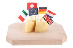 Global cheese Royalty Free Stock Image