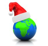 Global christmas Royalty Free Stock Photo