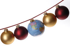 Global Christmas Concept Stock Photography