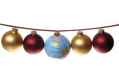 Global Christmas Concept Royalty Free Stock Photography