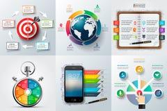 Global, chronologie, éducation, affaires infographic illustration stock