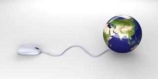 Global click Royalty Free Stock Photos