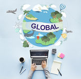 Global Climate Temperature Community Worldwide Concept Stock Photo
