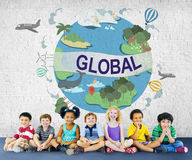 Global Climate Temperature Community Worldwide Concept Royalty Free Stock Photos