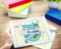 Global Climate Temperature Community Worldwide Concept Stock Images