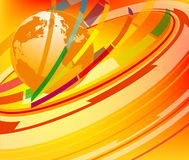 Global  colorful abstract Royalty Free Stock Image
