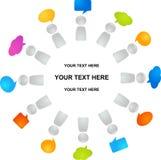 Global communication Stock Image
