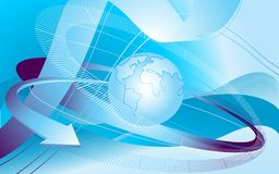 Global communication Stock Images