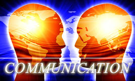 Global communication Stock Photography